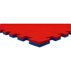 Будо-маты EC 100*100*2 см двусторонние красно-синие