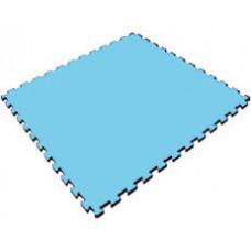 Мягкий пол универсальный 100*100 см 14 мм голубой