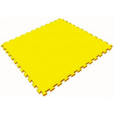 Мягкий пол универсальный 100*100 см 14 мм желтый