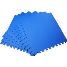 Мягкий пол универсальный 50*50 см 14 мм синий 4 шт