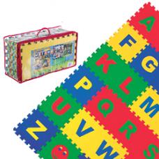 Набор мягких плиток коврик-пазл Английский Алфавит