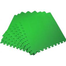 Мягкий пол универсальный 50*50 см 14 мм зеленый 4 шт