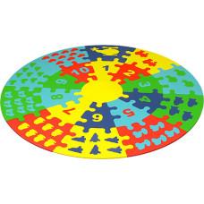 Набор мягких плиток коврик-пазл Круг