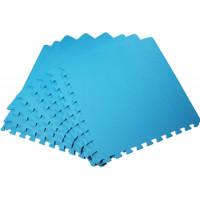 Мягкий пол универсальный 50*50 см 14 мм голубой 4 шт