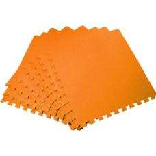 Мягкий пол универсальный 50*50 см 14 мм оранжевый 4 шт
