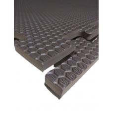 Мягкий пол универсальный 100*100 см 14 мм коричневый