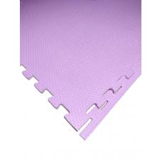 Мягкий пол универсальный 100*100 см 14 мм розовый