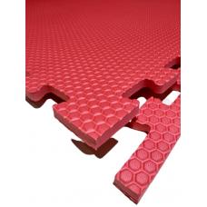 Мягкий пол универсальный 100*100 см 14 мм красный