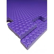 Мягкий пол универсальный 100*100 см 14 мм фиолетовый