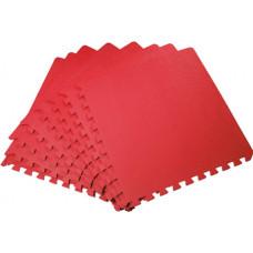 Мягкий пол универсальный 50*50 см 14 мм красный 4 шт