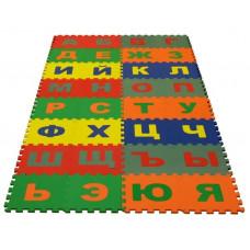 Набор мягких плиток коврик-пазл Русский Алфавит