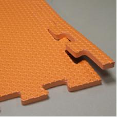 Мягкий пол универсальный 100*100 см 14 мм оранжевый