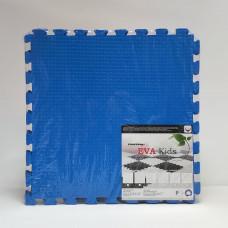 Коврик-пазл EVA Kids 50х50х1 см синий 4 детали