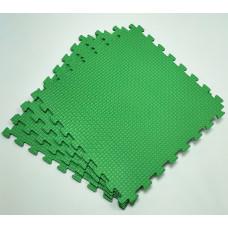 Коврик-пазл 50х50х1 см зеленый 4 детали