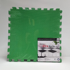 Коврик-пазл EVA Kids 50х50х1 см зеленый 4 детали