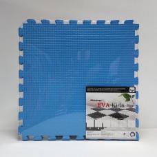 Коврик-пазл EVA Kids 50х50х1 см голубой 4 детали
