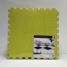 Коврик-пазл EVA Kids 50х50х1 см салатовый 4 детали
