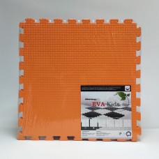 Коврик-пазл EVA Kids 50х50х1 см оранжевый 4 детали