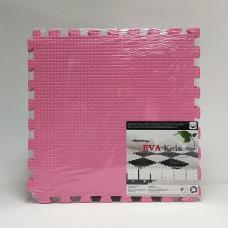 Коврик-пазл EVA Kids 50х50х1 см розовый 4 детали