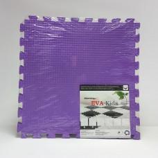 Коврик-пазл EVA Kids 50х50х1 см фиолетовый 4 детали