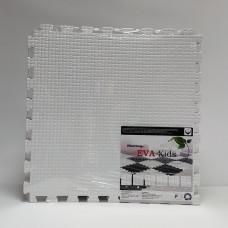Коврик-пазл EVA Kids 50х50х1 см белый 4 детали