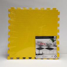 Коврик-пазл EVA Kids 50х50х1 см желтый 4 детали