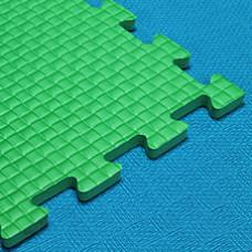 Мягкий пол 100*100*1 см зеленый
