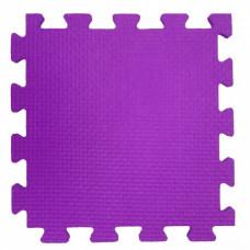 Мягкий пол 33*33*0,9 см фиолетовый ( 9 дет.)