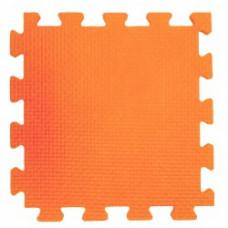 Мягкий пол 33*33*0,9 см оранжевый ( 9 дет.)