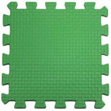 Мягкий пол 33*33*0,9 см зеленый ( 9 дет.)