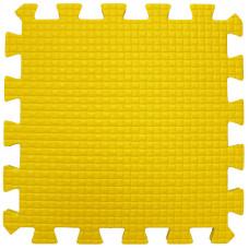 Мягкий пол 33*33*0,9 см желтый ( 9 дет.)