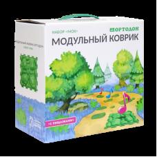 Модульный коврик-пазл ОРТОДОН № МОХ со звуком NEW!, 6 пазлов