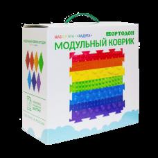 Модульный коврик-пазл ОРТОДОН № 4 РАДУГА (3+)