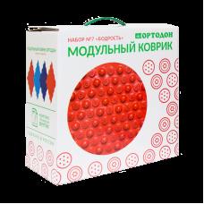 Модульный коврик-пазл ОРТОДОН № 7 БОДРОСТЬ (3+)