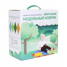 Модульный коврик-пазл ОРТОДОН № 8 ЛЕСНАЯ ТРОПИНКА (3+)