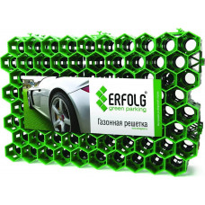 Газонная решетка ERFOLG Green Parking 40х60 см зеленая