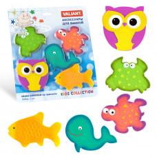 Набор игрушек для ванной мини-коврики VALIANT СУПЕРМИКС 5 шт MIX5S9